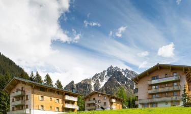 Skønne ferielejligheder med udsigt til bjergene