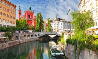 Hyggelige byer og hovedstad