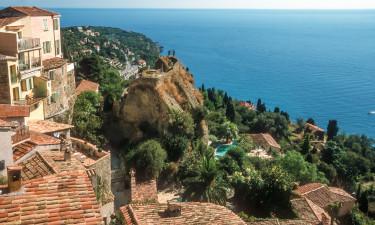 Byen i Roquebrune Cap Martin
