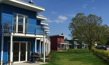 Vælg mellem hotelværelse, feriehus eller lejlighed