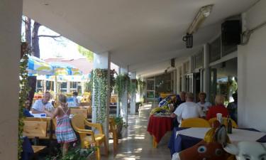 Restauranten paa campingpladsen