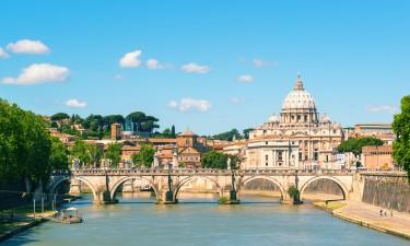 Udsigt over Rom