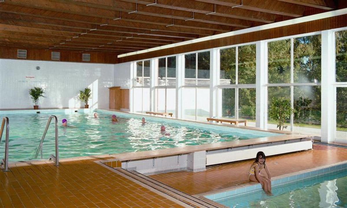 Camping Lackenhauser i Bayern - Indendoers pool