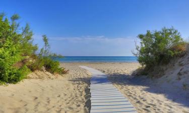 Strand Camping Torre Rinalda in Apulien