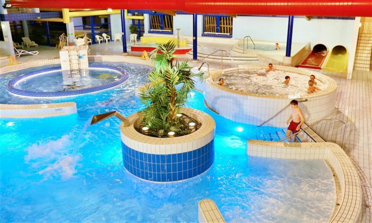 Spindl Aquapark - Den store pool i badelandet