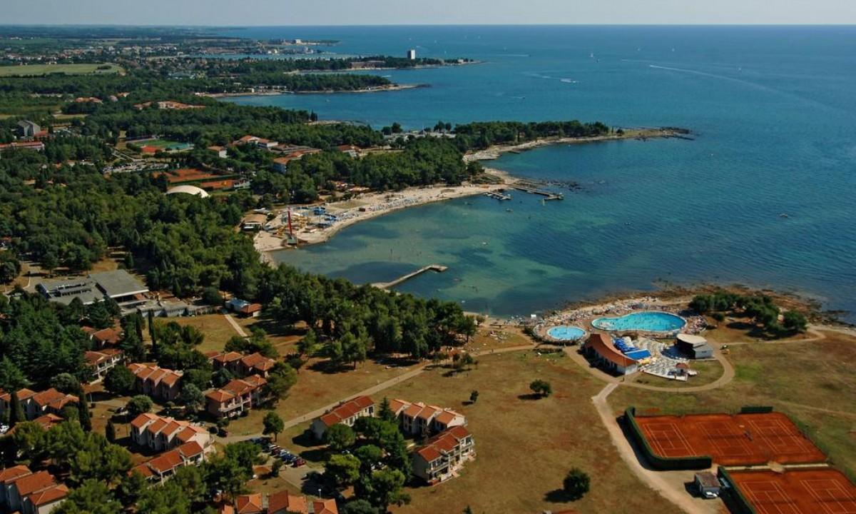 Luftfoto af Polynesia og Istrien