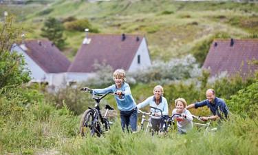 Zandvoort - Familie på cykeltur