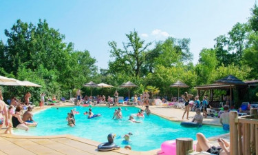 Camping Le Pech Charmant in der Dordogne