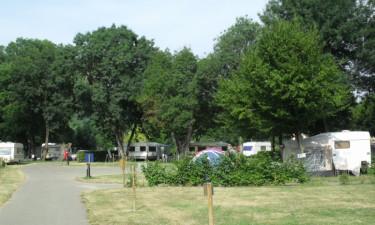Område på campingpladsen