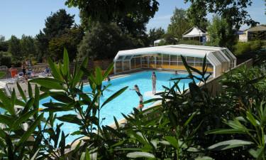 Campingpladsens egen pool