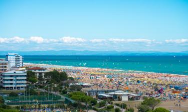 Adriaterhavskysten - Dejlig sandstrand ved feriestedet