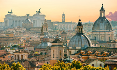 Rom - Udsigt over byens tage