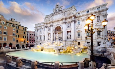 Rom - Trevi-fontænen