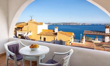Ferielejlighed i Spanien - Udsigt fra altan til havet