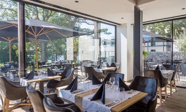 Lækker restaurant med skøn beliggenhed ved søen