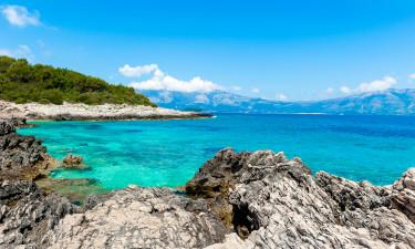 En af Adriaterhavets skønneste sandstrande