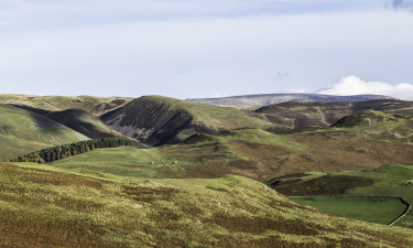 The Cheviot - Nordoest Englands hoejeste punkt