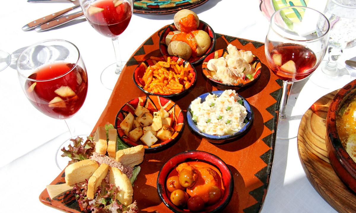 Tapas - Spansk menu med Sangria