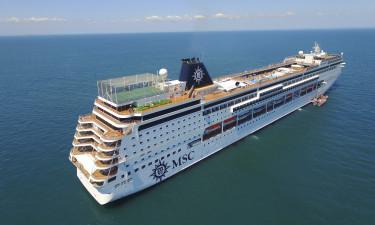 Kom med ombord på flotte MSC Sinfonia