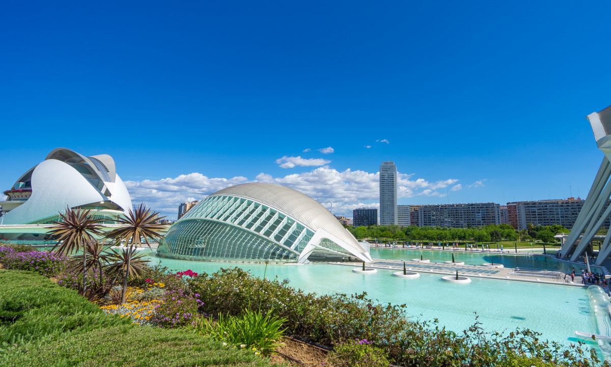 Valencia - Den moderne del