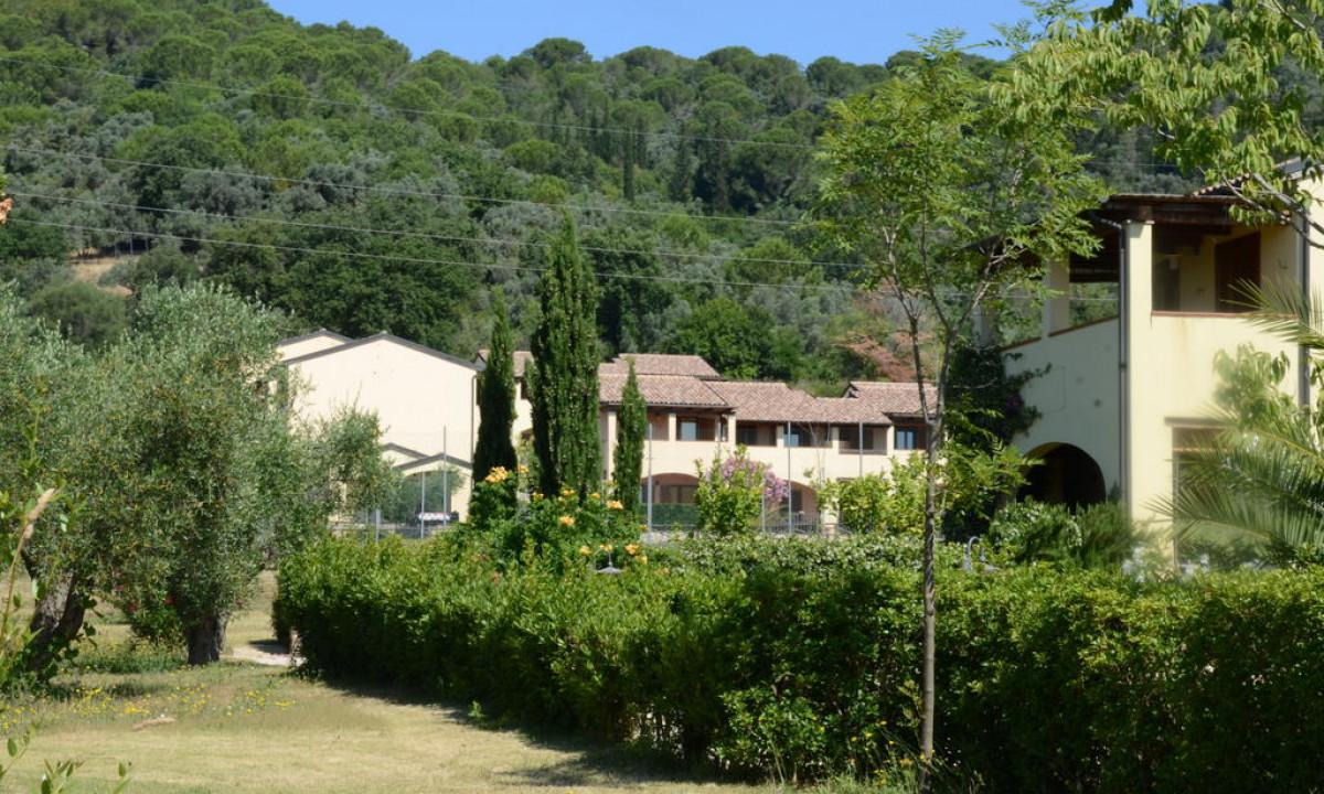 Naturrige omgivelser i og omkring Le Corti di Montepitti