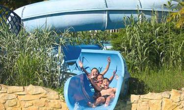 Sjove badefaciliteter på La Linotte