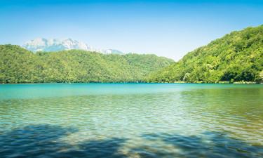 Lago di Levico - sø i Norditalien