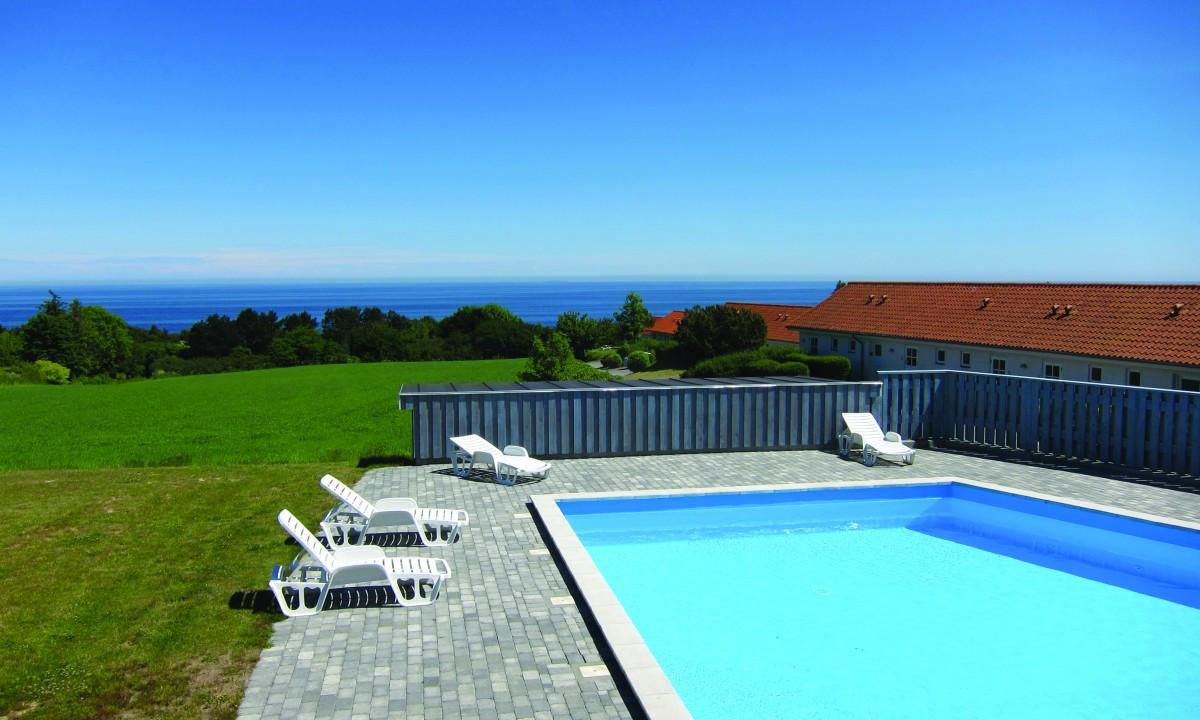 Boesvang - Poolområde på feriestedet