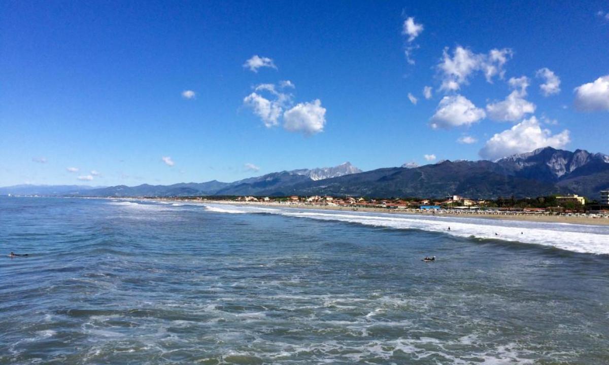 Strand taet paa Onda Marina