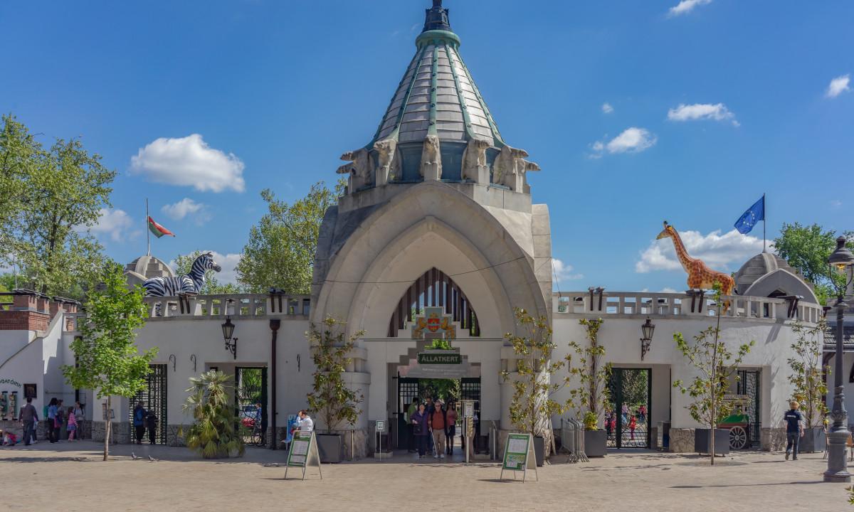 Budapestområdet - Indgangen til Budapest Zoo