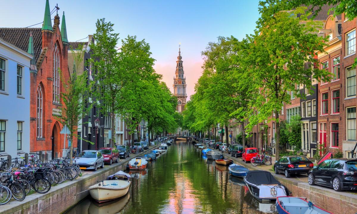 Amsterdam - Byen med de mange kanaler