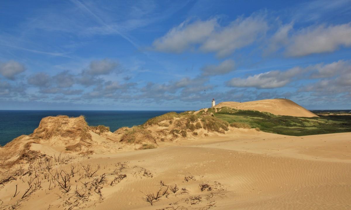 Sandbanker ved Vesterhavskysten