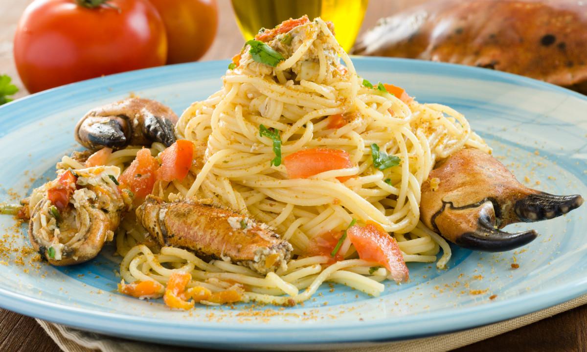 Klassisk måltid på Sardinien