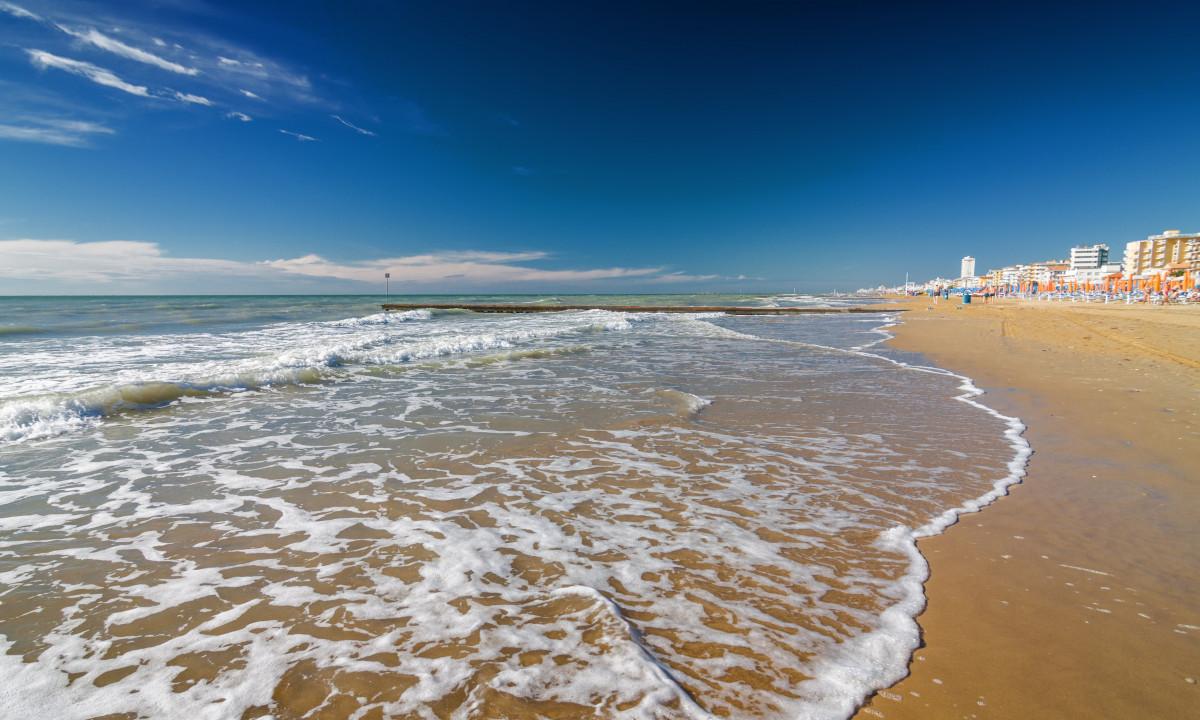 Strand ved Adriaterhavskysten