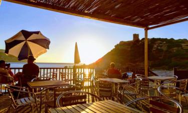 Restaurant Camping Torre del Porticciolo auf Sardinien