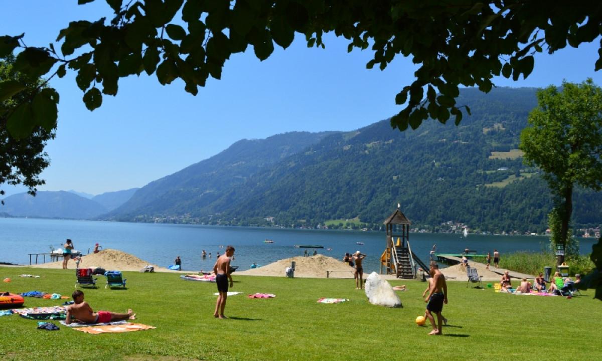Mobilheime Ossiacher See : Ossiacher see Österreich camping in kärnten mobilheime billig