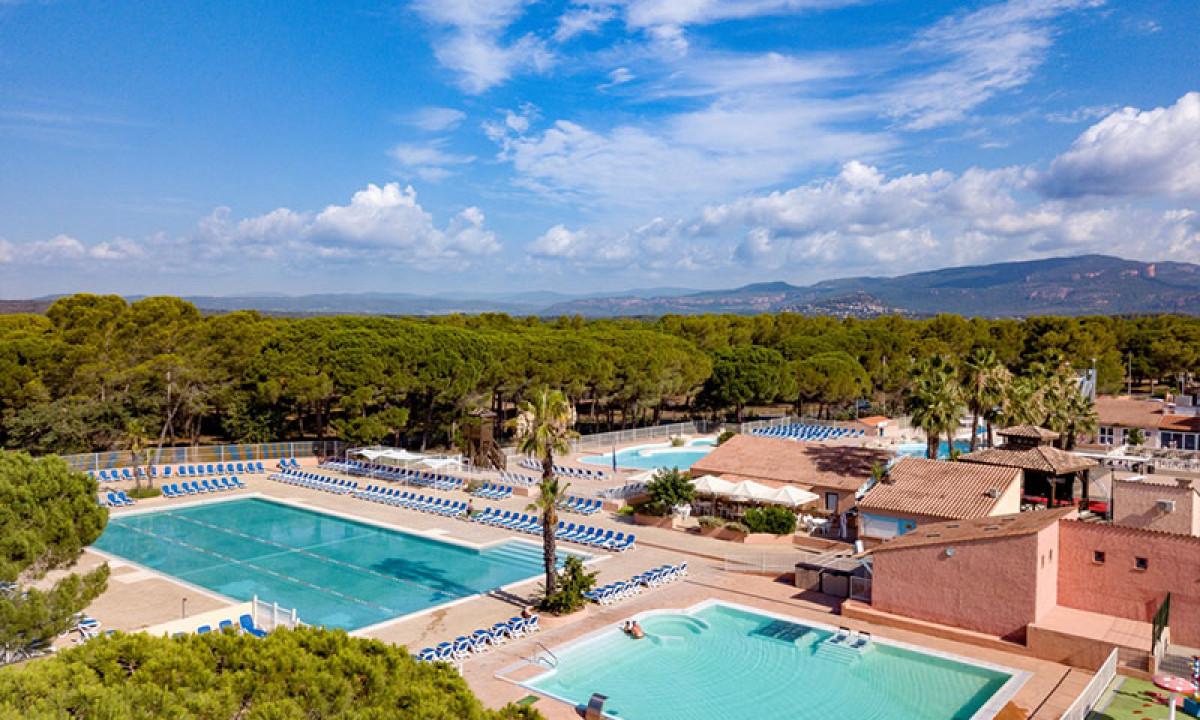 Camping Parc St. James Oasis - Côte d'Azur - Frankrijk ...